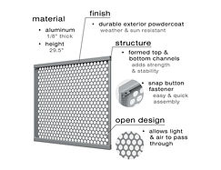 Details and specifications of the SelectSpace panels
