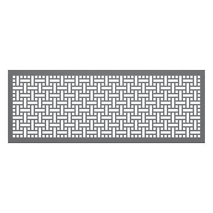 7' Partition Panel- Square Weave