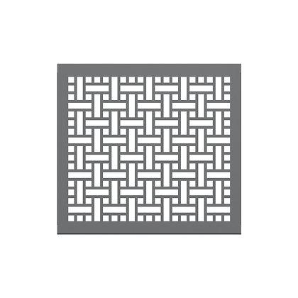 3' Partition Panel- Square Weave