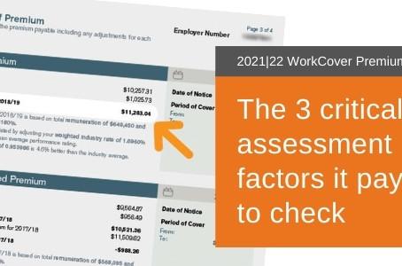 Your 2021 WorkCover Premium Notices