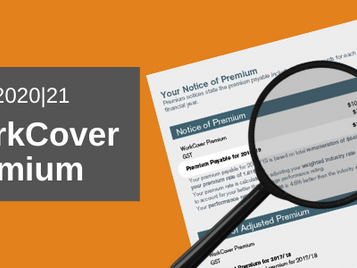 Your 2020 WorkCover premium notice