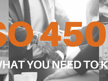 What you need to know about ISO45001