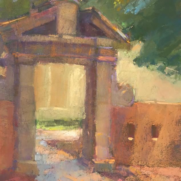 Gate in Shade