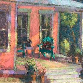 Pink Porch