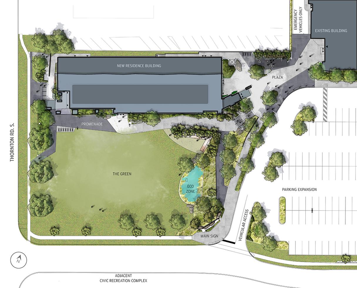 Trent U Oshawa - Concept Plan