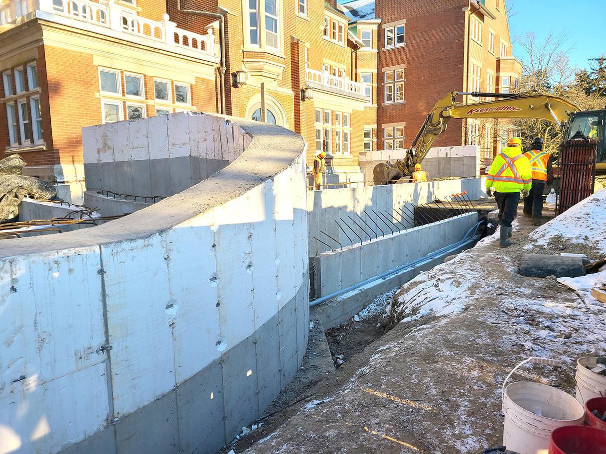 Construction now underway!