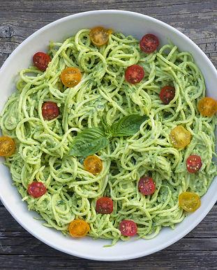 Spaghettis pesto maison.jpeg