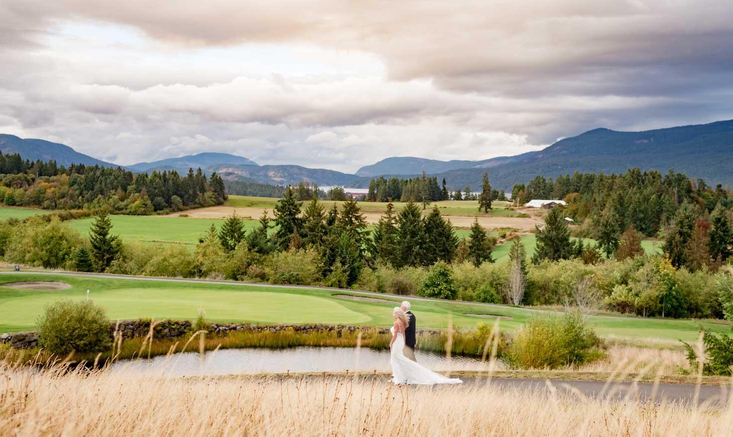 Walk through beautiful fields