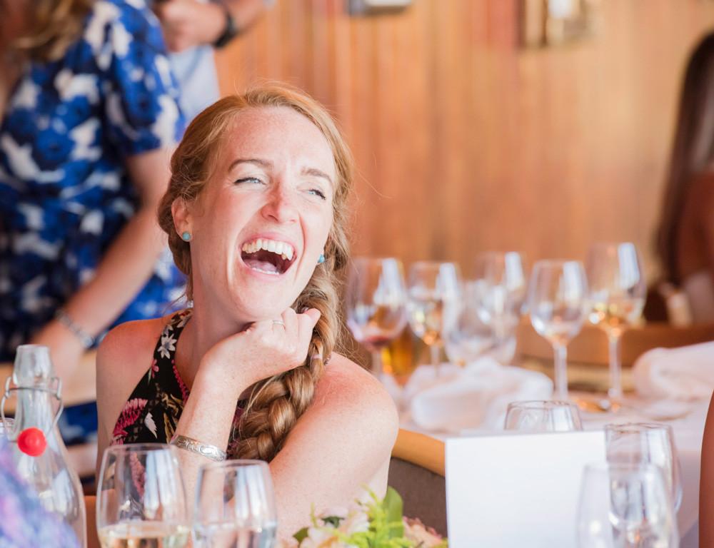 Wedding Guest Laughs
