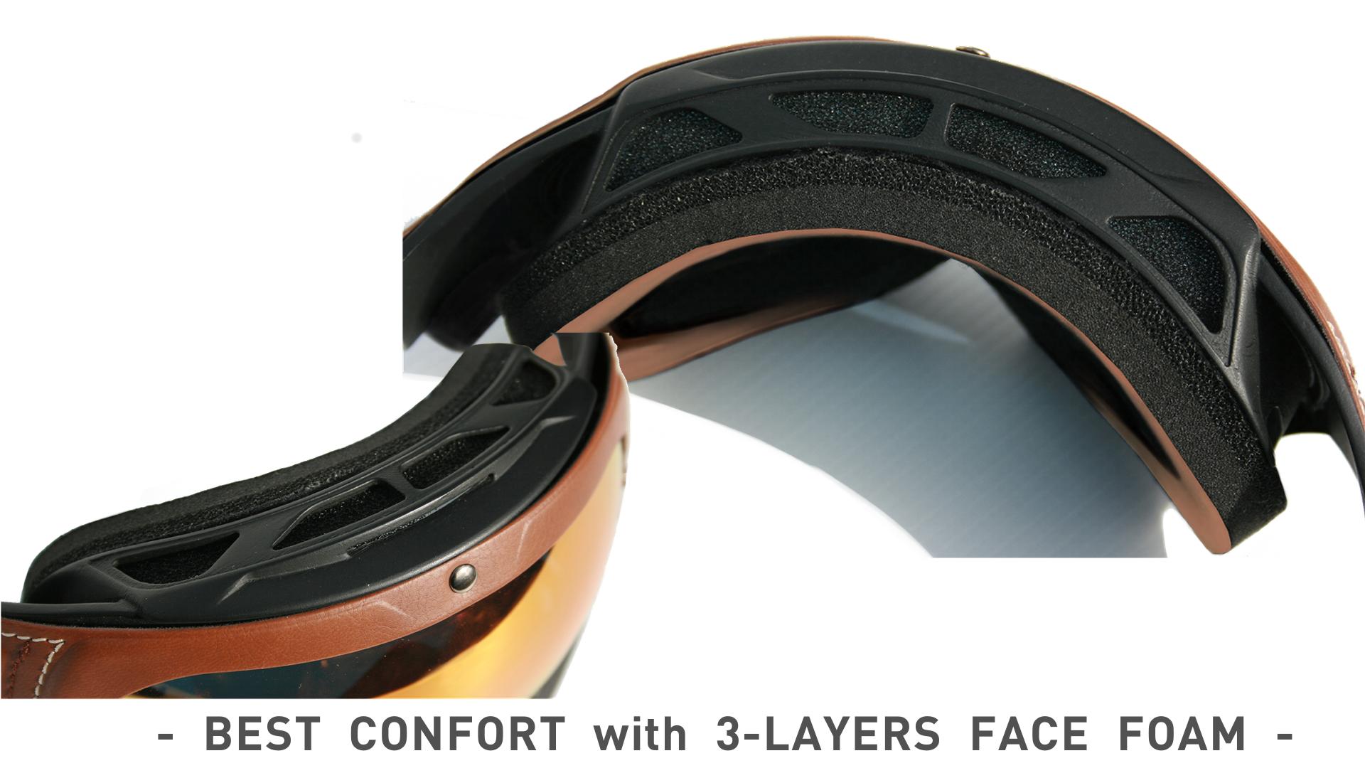 ALZELA-Goggles-3 LAYERS SOFT