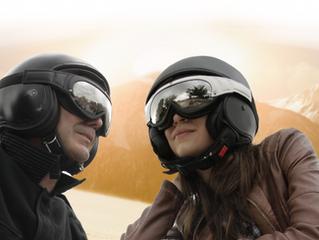 Alzela, occhialoni da moto 100% italiani