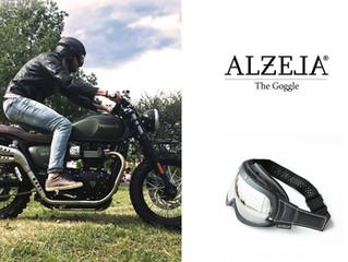Alzela, esordio per il brand italiano con la maschera Goggle