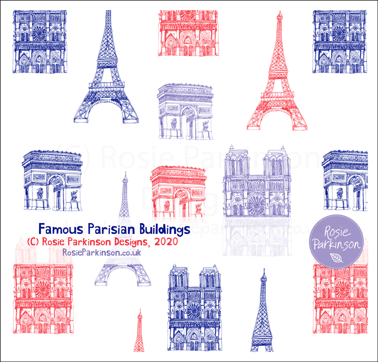 Famous Parisian Buildings