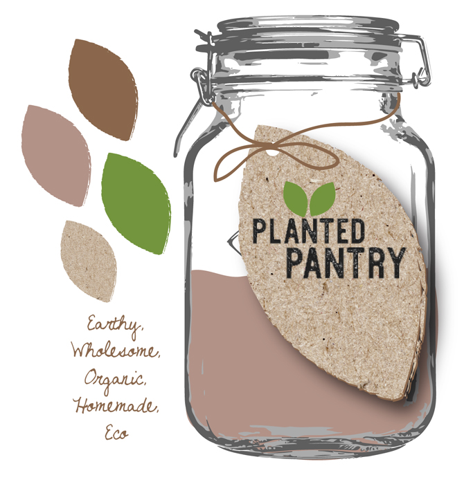 Eco Planted Pantry Idea