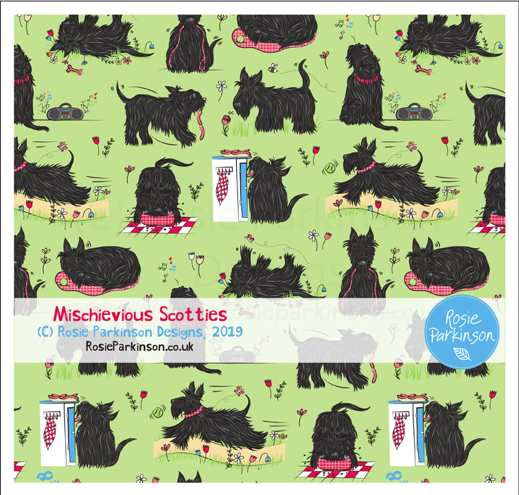 Mischievious Scotties