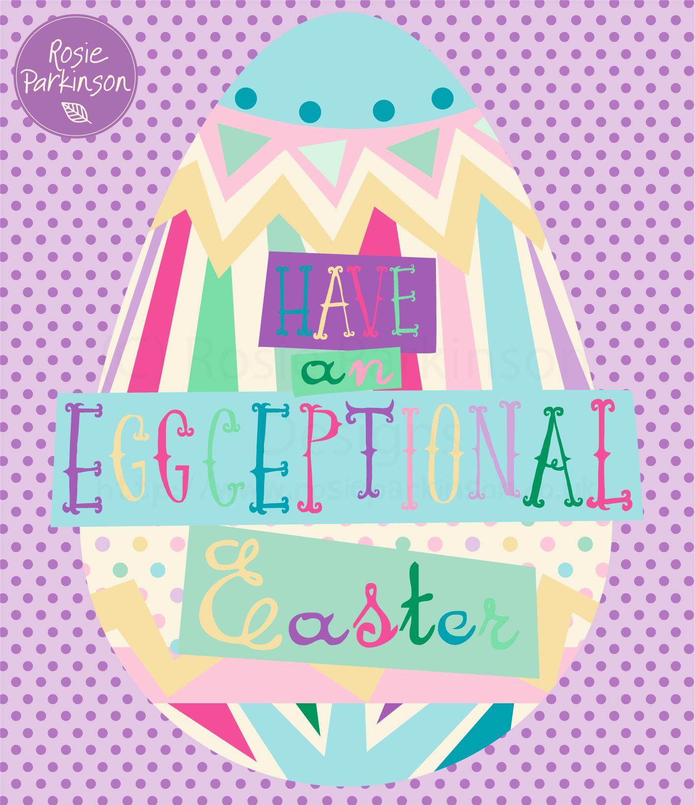 Eggceptional Easter HR