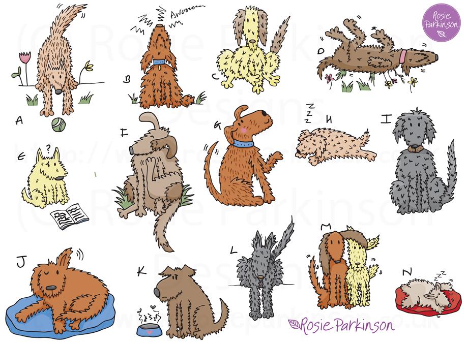 Furry Scruffy Dogs