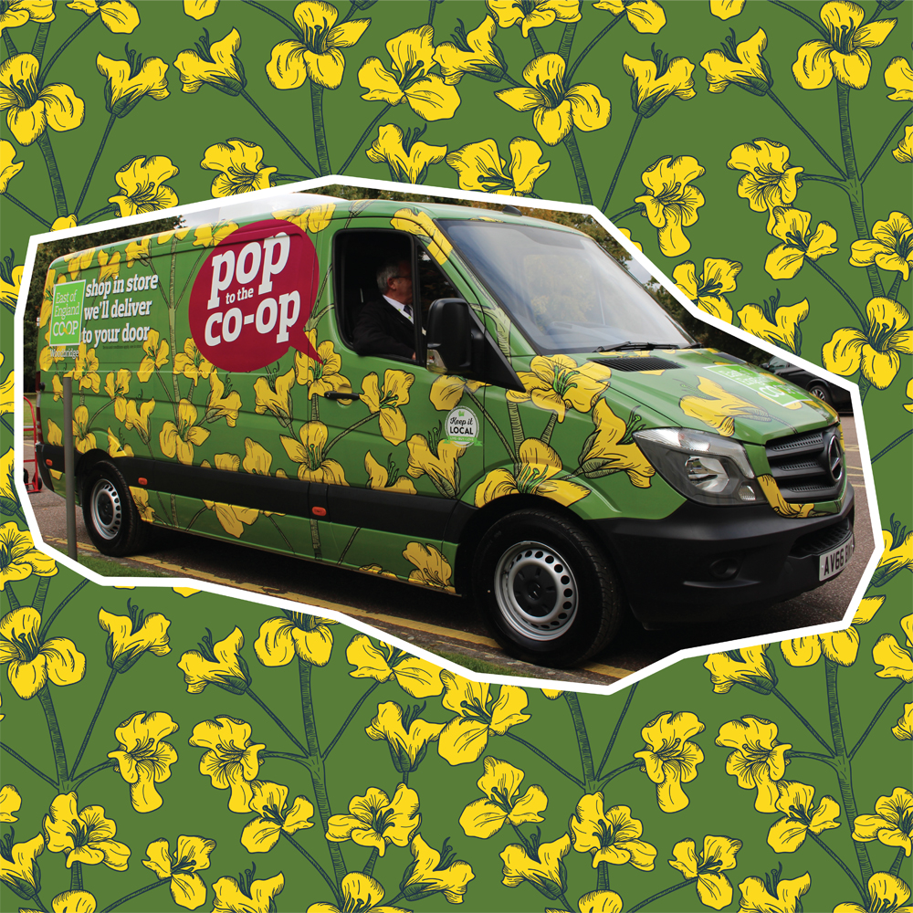 East of England Co-Op Van