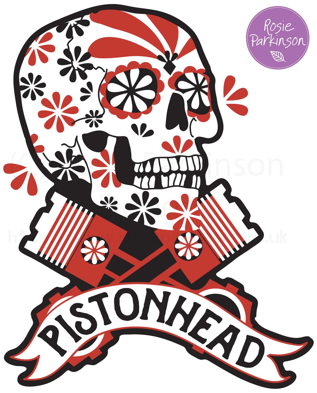 Pistonhead logo competition