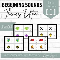 Beginning Sounds: Themes Edition | Maya Saggar