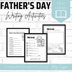 Father's Day: Writing Activities | Maya Saggar