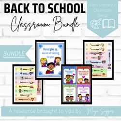 Back to School Classroom Bundle | Maya Saggar