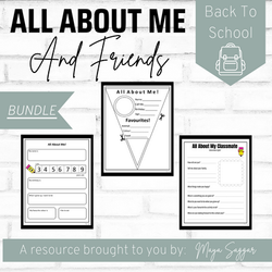 All About Me and Friends | Maya Saggar