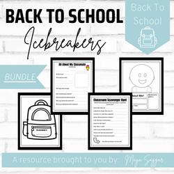 Back to School Icebreaker Activities | Maya Saggar