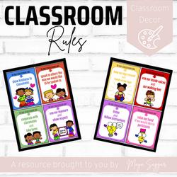 Classroom Rules | Maya Saggar