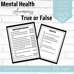 Mental Health True or False | Maya Saggar