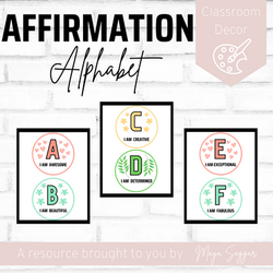 Affirmation Alphabet | Maya Saggar