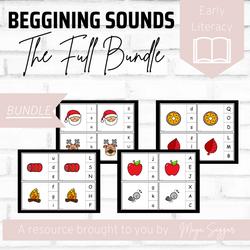 Beginning Sounds: The Full Bundle | Maya Saggar