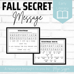 Fall Secret Message | Maya Saggar