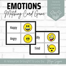 Emotions Matching Card Game | Maya Saggar