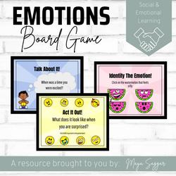 Emotions Board Game | Maya Saggar