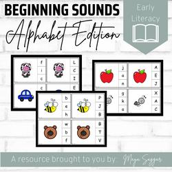 Beginning Sounds: Alphabet Edition | Maya Saggar