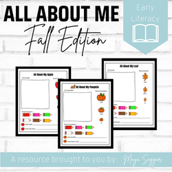 All About Me: Fall Edition | Maya Saggar