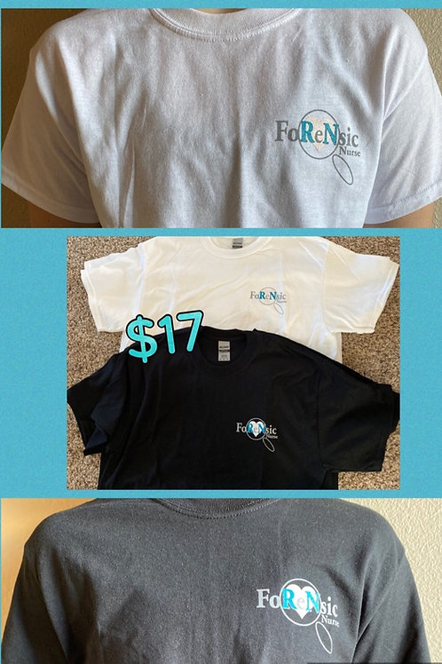 Forensic Nurse Short Sleeved T-Shirt
