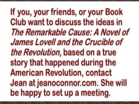 Visit about The Remarkable Cause: A Novel of James Lovell and the Crucible of the Revolution