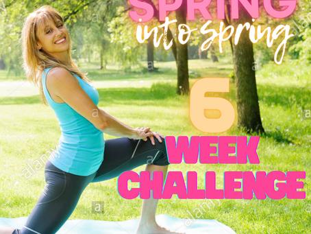 SPRING INTO SPRING 6 WEEK CHALLENGE