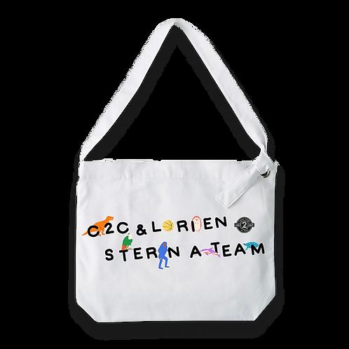 c2c x Lorien Stern A-Team Tote -White-