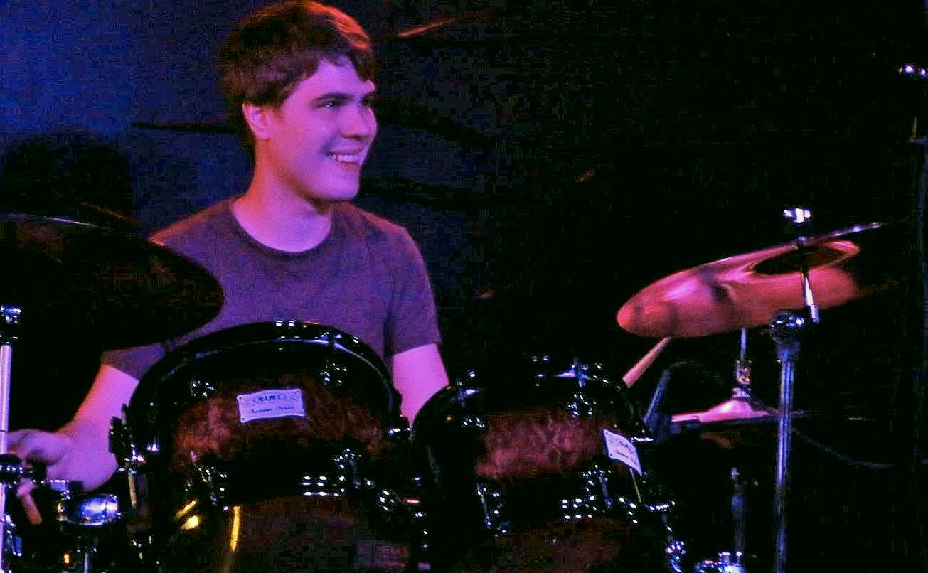 Good times with Chris on drums