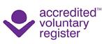 accredited voluntary register logo