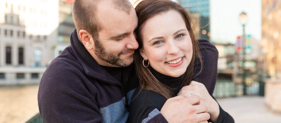 Erin & Jeff -  Milwaukee Engagement Session