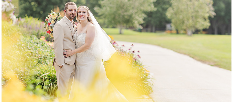 Jen & Patrick - A Sunny Celebration for this Sweet Pair