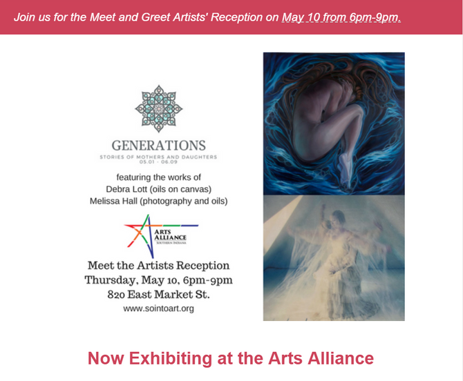 Generations: Stories of Mothers and Daughters - May 10, 6-9pm