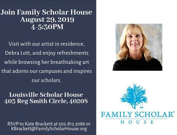 Meet Debra Lott @ the Family Scholar House - August 29th!