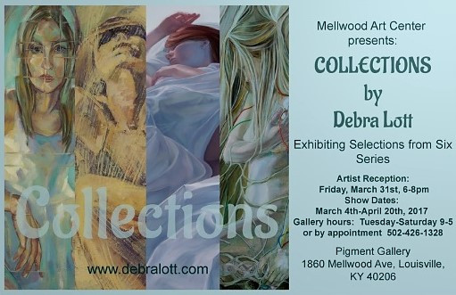 COLLECTIONS.....                                                My new solo exhibit at Mellwood Arts