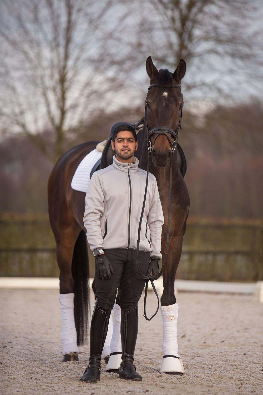 horse, horse rider, spooky horse, dressage horse