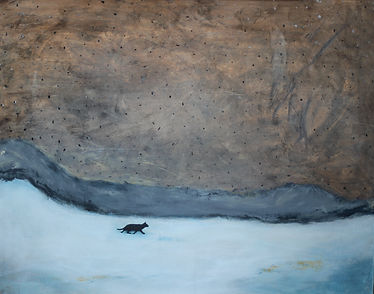 the black cat 80x100cm 2019.jpg